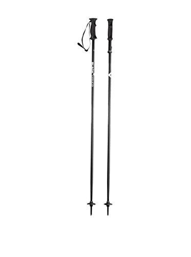 Black Crevice Erwachsene Skistöcke, schwarz, 135