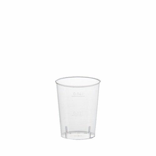 PAPSTAR Kunststoff-Schnapsglas, 4 cl, glasklar