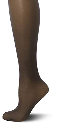 Charnos Damen 1PP 10 Denier Elegance Ultra Sheer Stockings Halterlose Strümpfe, 10 DEN, Black 100, Small - Subtilen Glanz-finish