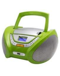 Lauson CP444 CD-Player mit Usb, Kinder Radio, USB, CD/MP3 Player, Grün