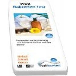 Selfcontrol UW 5505 D 02/ Erkennung von Bakterien im Pool, Jacuzzi oder Whirlpool – 2 Tests – einfach und schnell