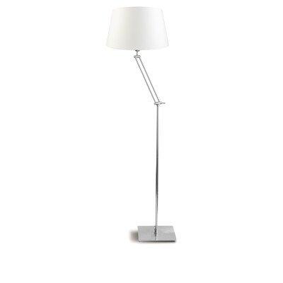 Lampe sur pied 1 ampoule dublin-couleur de l'abat-jour : gris clair