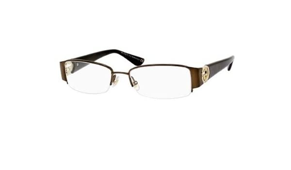 97da8fb643d Gucci Gg 2844 0Nvx Brown Havana Eyeglasses  Amazon.co.uk  Shoes   Bags