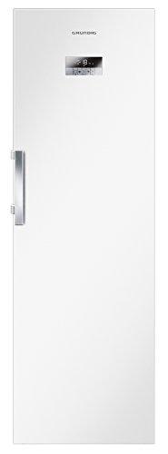 Grundig GFN 13820 Gefrierschrank  / A++ / 185 cm / 275 L Gefrierteil / Antibakterielle Türdichtung / NoFrost Technologie / Display mit Sensortasten / Schnellgefrieren-Funktion / LED-Innenbeleuchtung / Eiswürfelschale / weiß
