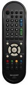 *GENUINE* SHARP LCD TV REMOTE CONTROL FOR MODELS *LC19D1EBK * LC32DH500E * LC32DH510E * LC32FH510E