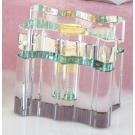 stealstreet ss-gc-cc-508cc-508klar K9Kristall gewellt quadratisch Parfüm Flasche Duft Dekanter Decor