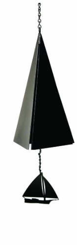 North Country Wind Glocken Nantucket Bell bādgir mit Schwarz Skip Jack -
