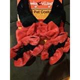 Passende Kostüm Drei - Spooky Village for Pets 3-4Stück Pet Kostüm-Eine Größe Passend für die Meisten, All, Rot/Schwarz