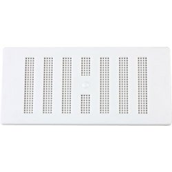 Map White Plastic Vent Adjustable 6