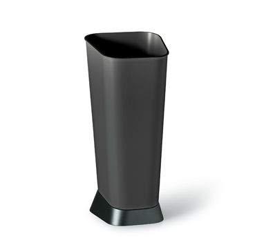 Blim, portaombrelli, colore nero, 24x 26x 55cm