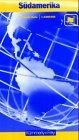 Südamerika, politische Ausgabe 1 : 8 000 000. Kümmerly- und Frey- Karte. Politische Karte mit Länderlexikon. -