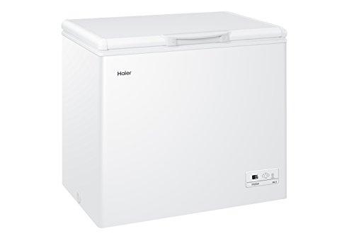 Haier HCE233S Gefriertruhe/A++ / 88.0 cm Höhe / 186 kWh/Jahr / 223 L Gefrierteil/Nutzinhalt/Alarmanzeige im Störfall/weiß