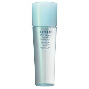 Shiseido Pureness Refreshing Cleansing Water Oil-free (Unboxed) 5oz./150ml by USA (Cleansing Shiseido-pureness Water)