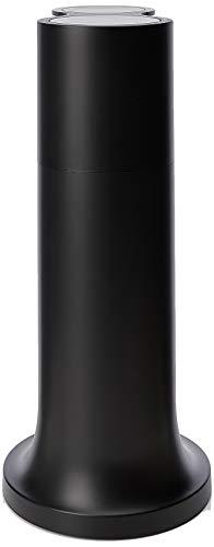 Levivo Wassersprudler Starter-Set inkl. 2 Sprudelflaschen & CO2-Zylinder 60 Liter in Weiß oder Schwarz, Schwarz - 2