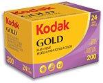Kodak Gold 200asa - Carretes de fotos (35 mm, 36 fotos, 3 unidades)