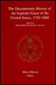 The Documentary History of the Supreme Court of the United States, 1789-1800: v. 2