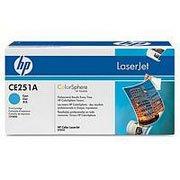 HP Original Toner für Color LaserJet CP3525, CM3530MFP-CE251A (cyan) 7K Cyan - 7k Toner Cyan