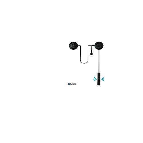 Bluetooth Kopfhörer Wasserdicht in Ear Stereo-Ohrhörer,Motorradhelm Bluetooth Headset Helmbewegung Bluetooth Stereo (Black) -
