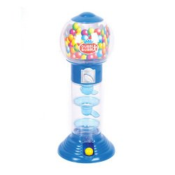 10.5 Inches Spiral Fun Gumball Bank (Colors May Vary) by Dubble Bubble