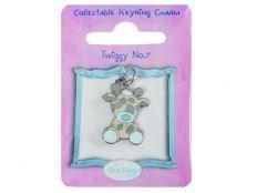 My Blue Nose Freunde Schlüsselanhänger Charm–Twiggy die Giraffe Die Blue Nose Freunde
