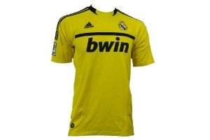 Adidas REAL H GK JERSEY Maglia Giallo Nero Real Madrid
