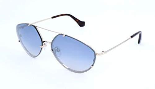 Balenciaga Damen Sunglasses Ba0085 33C-60-15-135 Sonnenbrille, Silber, 60