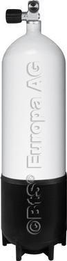 Eurozylinder 300 bouteille 7 l avec scubatec monoventil bar Stahlflasche12L