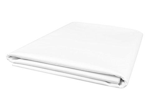 Zollner Bettlaken Betttuch aus Baumwolle, ca. 240x290 cm (weitere verfügbar)