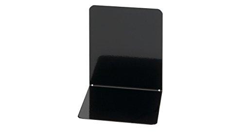 Preisvergleich Produktbild Maul 3506290 Buchstützen aus Metall, 2 Stück, 14x12x14 cm, Schwarz