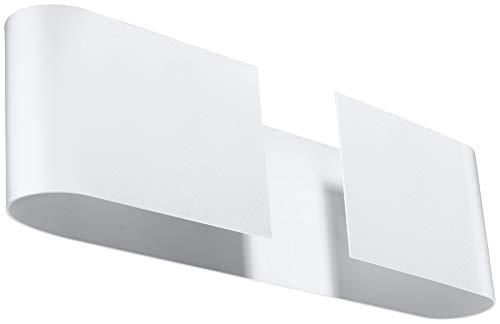 Sollux Lighting LAKO Applique murale en acier Blanc