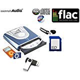 Cocktail Audio Mini X-9 Real Time Audio CD to Digital Music Converter, Burner & Player