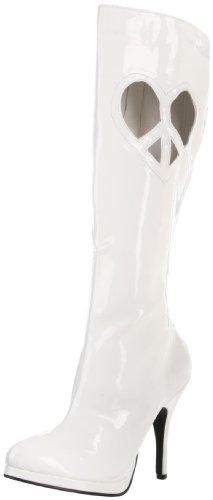 Heels Club , bottes femme Blanc - blanc
