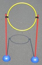 Pfosten und Ringset I für Tennis Trainerbedarf