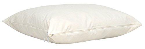 Orjen - oreiller ferme naturel laine/latex bio - enveloppe 100% coton bio - 60x60cm