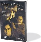 Robert Dick-Flying Lessons 3 DVD Set-Flute-DVD Interno unidad de disco óptico