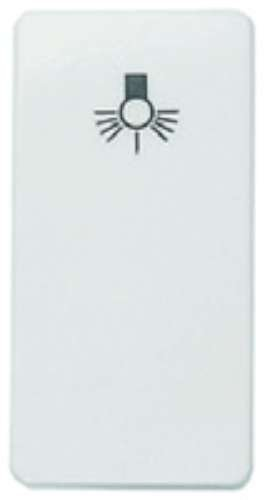 Niessen stylo - Pulsador timbre serie stylo blanco marfil