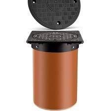 Kunstoff Schachtabdeckung Schachtdeckel DN 315 Teleskopabdeckung A15 PP 75kN