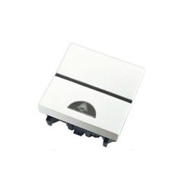 Niessen - n2204bl pulsador simbolo de timbre zenit blanco Ref. 6522005105