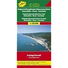 Bulgarisch-Rumänische Schwarzmeerküste-Donaudelta-Varna-Constanta.  Auto- und Freizeitkarte. 1 : 150 000.