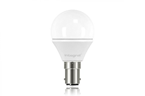 Integral LED-nicht dimmbar klar Mini Globe Leuchtmittel (B15 Kleine Bajonettsockel 3,8 W LED 2700 K 250 lm) - Warm Weiß - 20w Single Light Mini