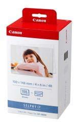 Original Tinte passend für Canon Selphy CP 800 Canon KP-108IN 3115B001 - Premium - Foto - 108 Seiten