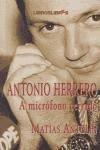 Antonio herrero - a microfono cerrado por Matias Antolin