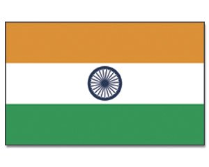 Indien Flagge Fahne 90 * 150 cm (Indien Flagge T-shirt)