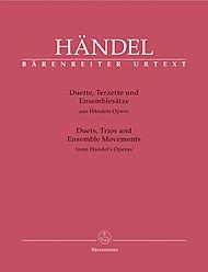 BARENREITER HAENDEL G.F. - DUETS, TRIOS ...