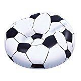Poltrona Gonfiabile Pallone Soccer Cm. 110x110x70