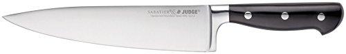 Judge cuchillo de chef, Negro, 20cm