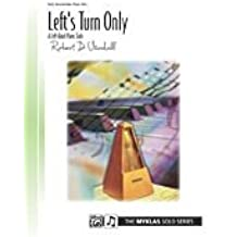 Alfred 00-88224 Left Turn s Only-para mano izquierda sola - Music Book