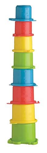 Playgro Stapelbecher Krokodil, 8 Stück, Ab 6 Monate, Croc Cups, Bunt, 40087 -
