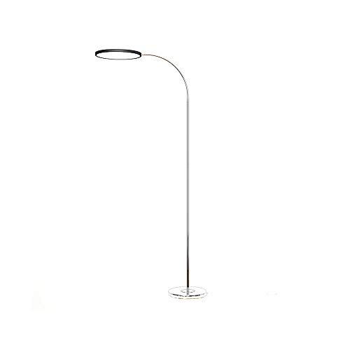 Yijiaju Stehlampe Mode Stehende Leselampe, LED-Standard-Lampen-Metallhandwerk-Schwanenhals-Fernbedienung, 5-stufiges Dimmen, 3 Farbtemperatur, Wohnzimmer-Schlafzimmer-Zeichnung