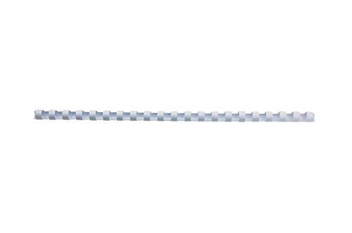 CombBind Plastikbinderücken 8mm, weiß, 100 Stück